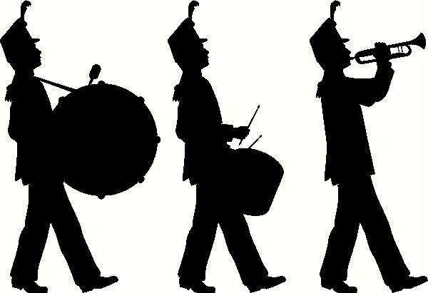Flute clipart marching band Marching Band band Decal clip