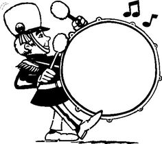 Flute clipart marching band Marching Band For And Pics