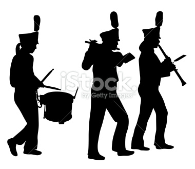 Flute clipart marching band Clipart Free free Band Images