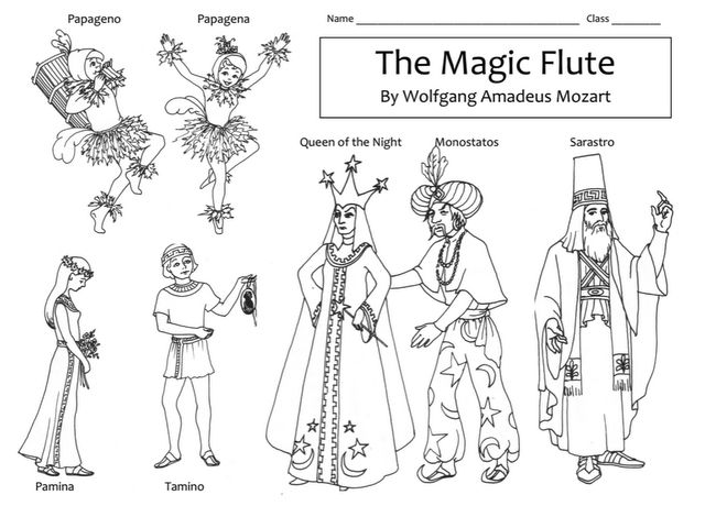 Flute clipart music class Collections Mozart: best Magic for