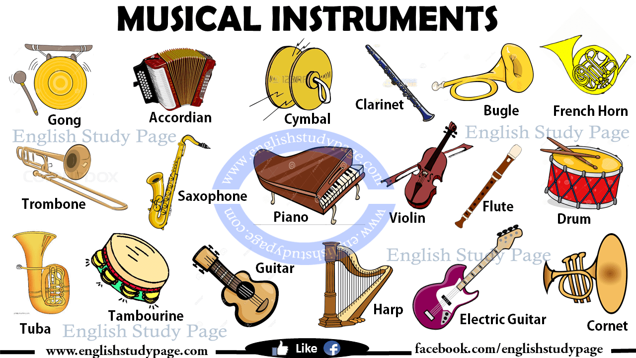 Heavy Metal clipart musical instrument In Instruments English Page in