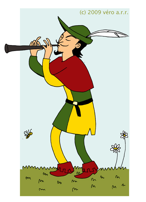 Fluted  clipart pied piper Piper by of is Piper