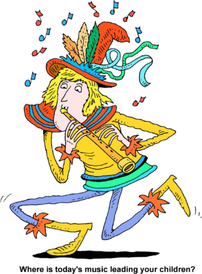 Flute clipart pied piper Image: children your Piper todays