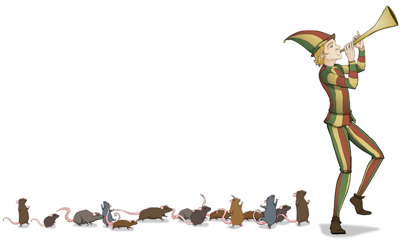 Flute clipart pied piper Rats Dating You  If