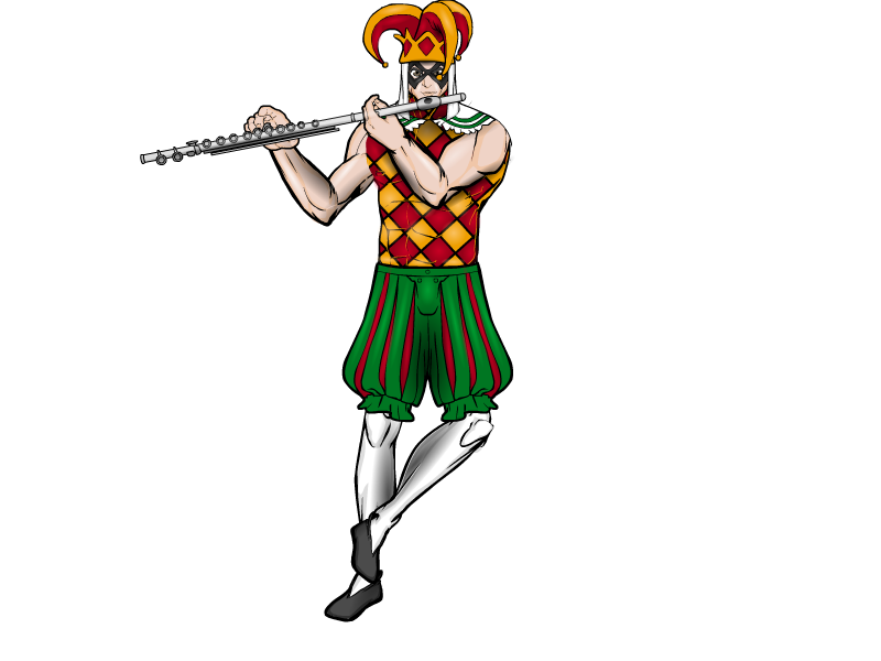 Flute clipart pied piper By Pied JR19759 JR19759 by