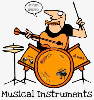 Violin clipart pleasant sounds Instruments Best Instruments musical Are