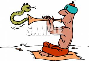 Flute clipart snake Charmer Coming the Flute Colorful