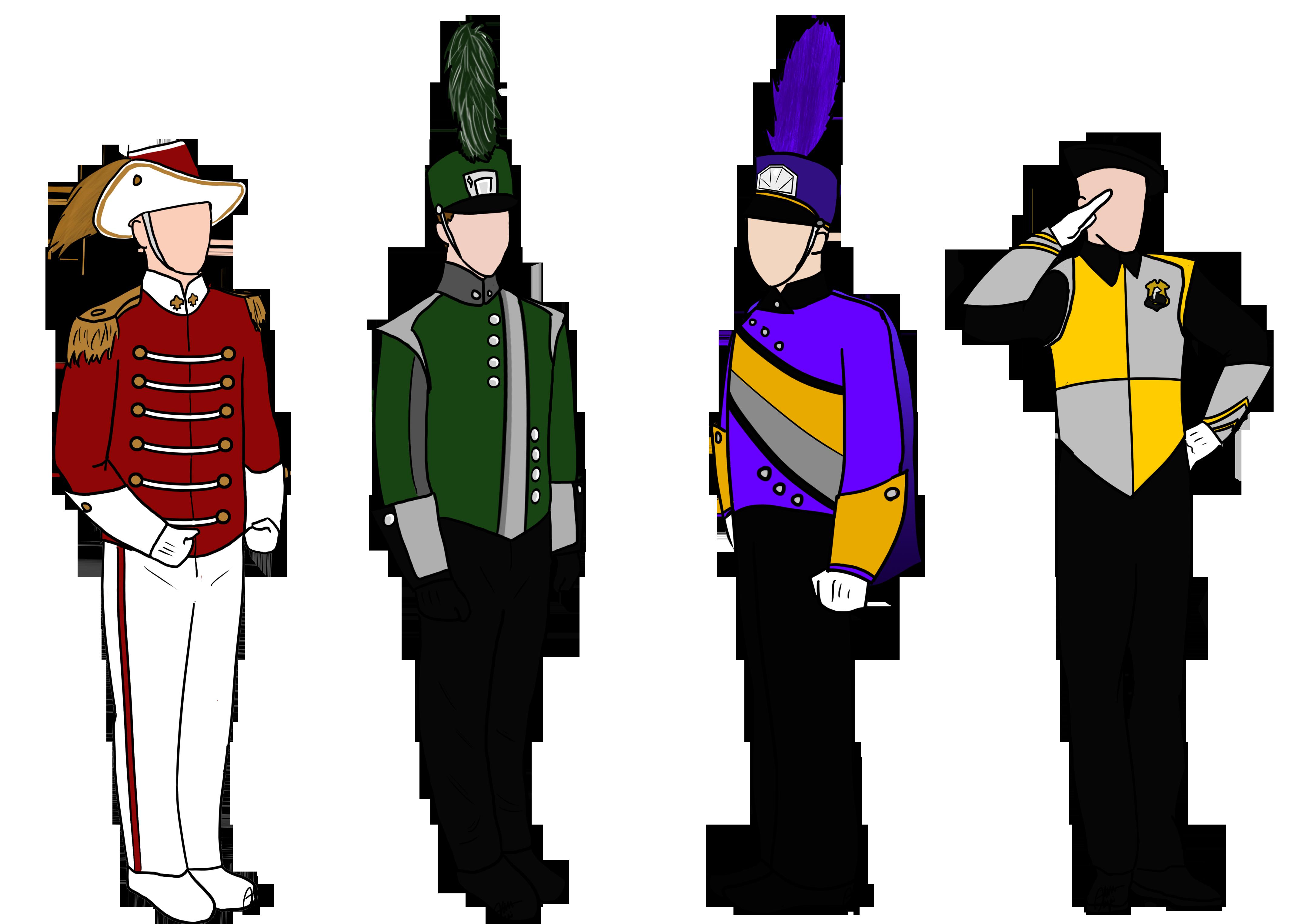 Band Uniforms Marching pic Uniform