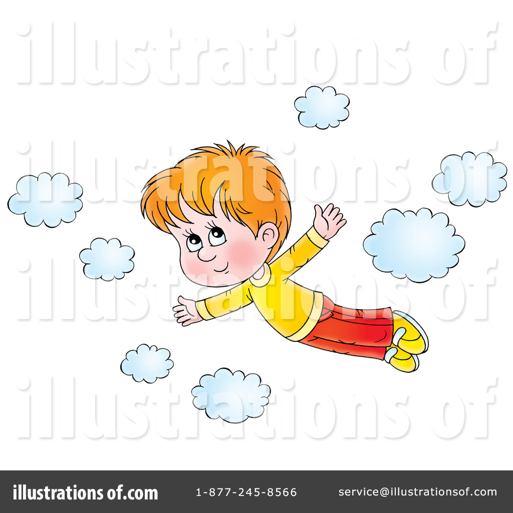 Flying clipart #7