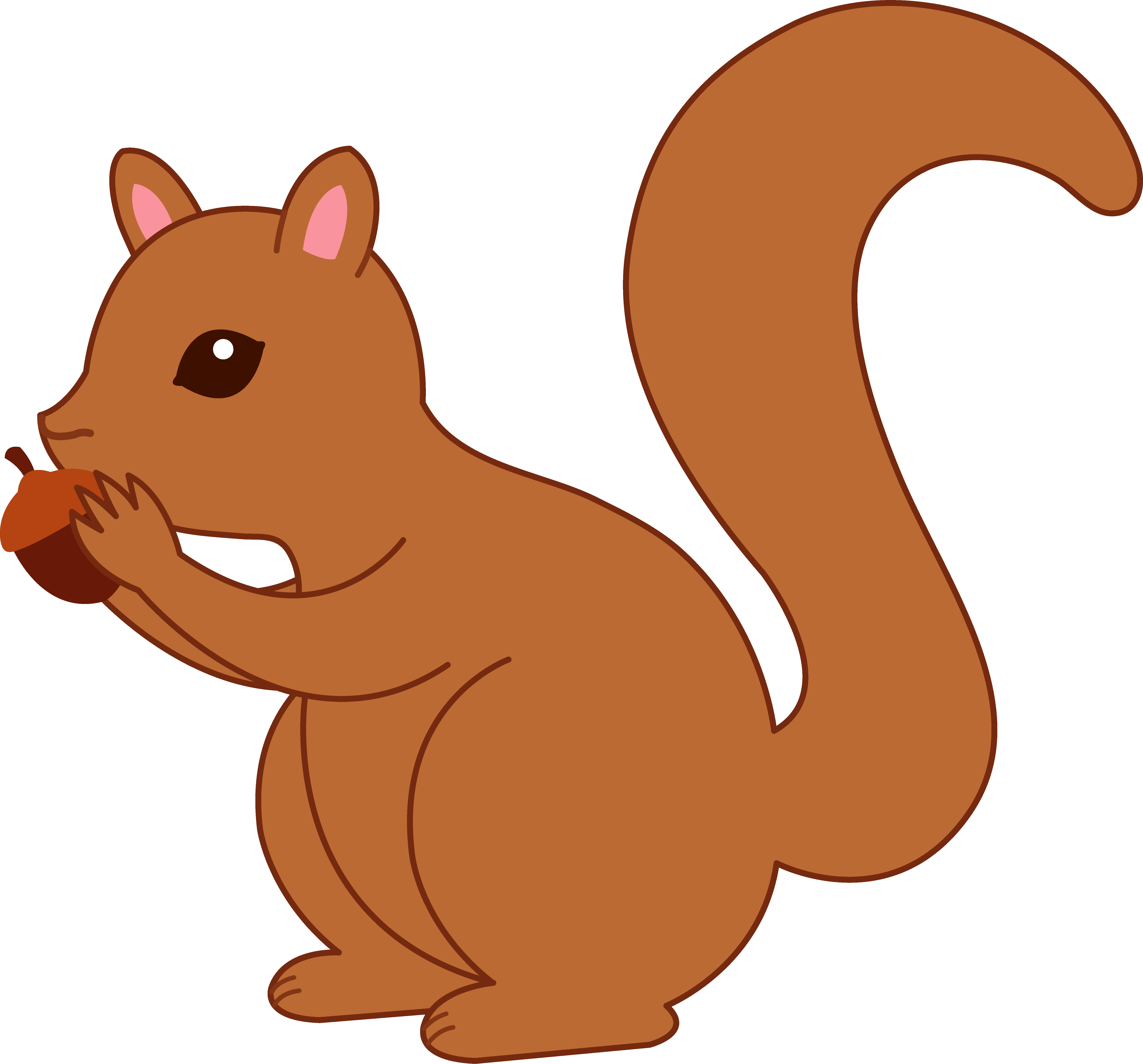 Chipmunk clipart cute Clipart Cute Clipart Bay Squirrel
