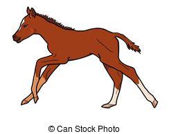 Foal clipart Art foal vector white Foal