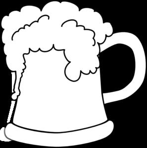 Beer clipart outline Panda Clipart Clipart Foam Images