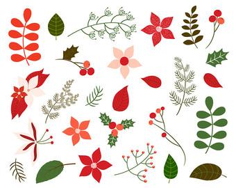 Foliage clipart Card foliage clipart Foliage Christmas