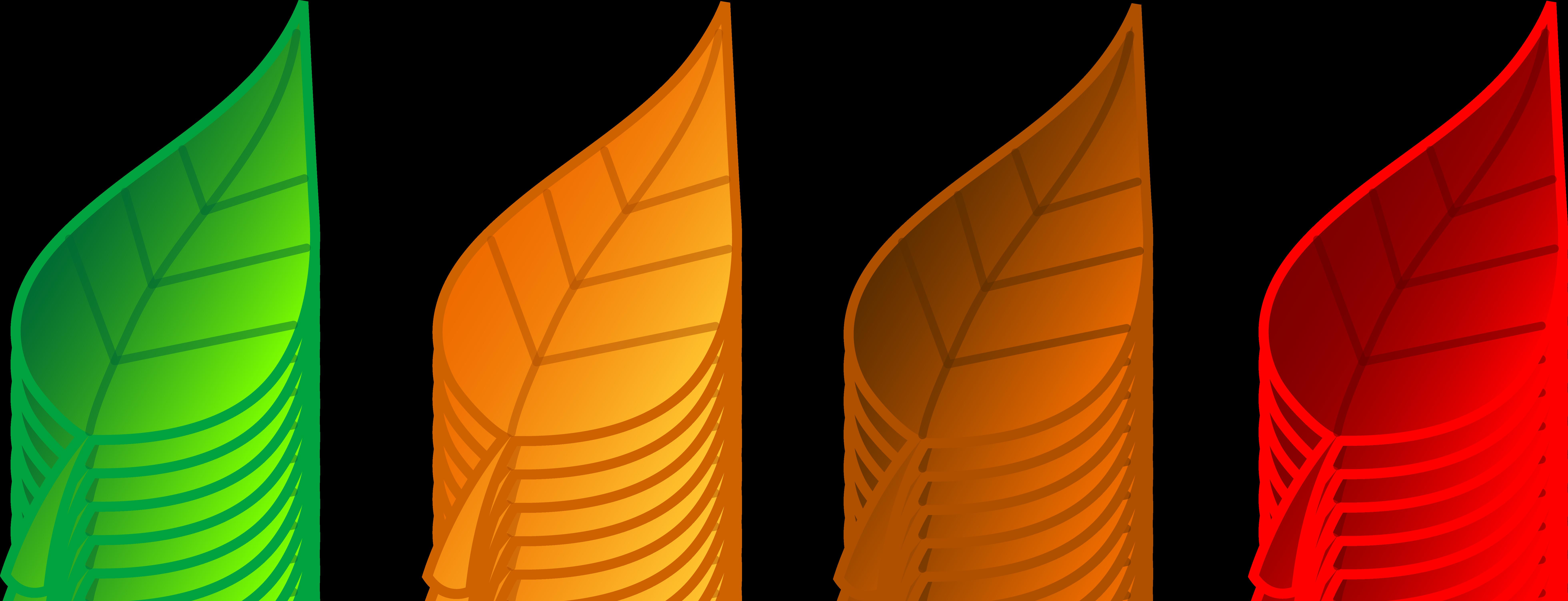 Leaf clipart Clipart Fall fall foliage clipart