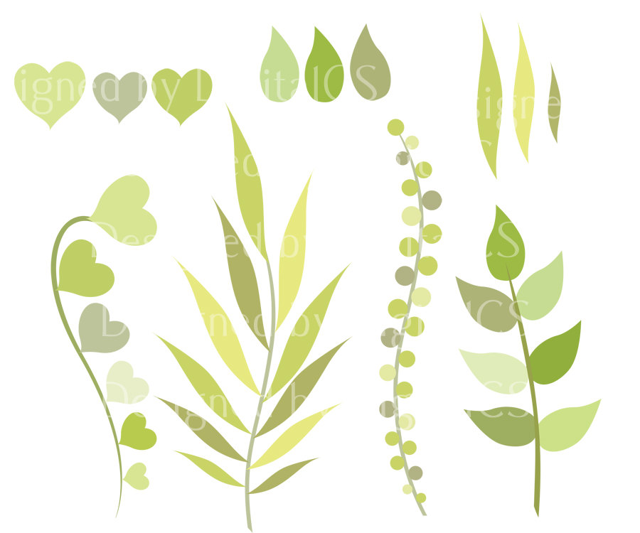 Foliage clipart Clipart for leaves Collection art