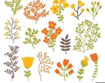 Foliage clipart Etsy Foliage clip Foliage Autumn