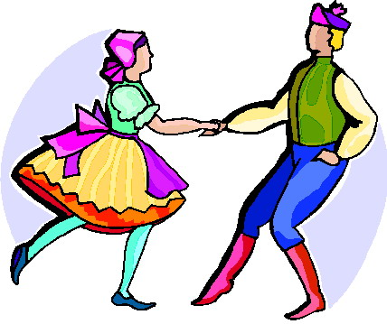 Folk clipart Clipart Folk Dance Dance Art