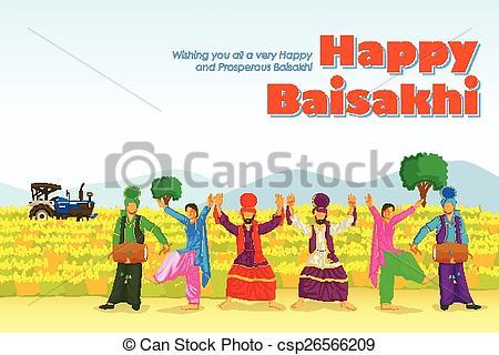 Danse clipart lohri Clipart Vector Punjab doing Sikh