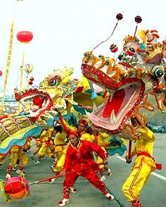 Folk clipart chinese dance Dragon Dragon Dance Dragons Chinese