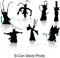 Folk clipart chinese dance Ope folk Dancers of Chinese