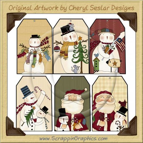 Folk clipart christmas Two Clipart Christmas Clipart Free