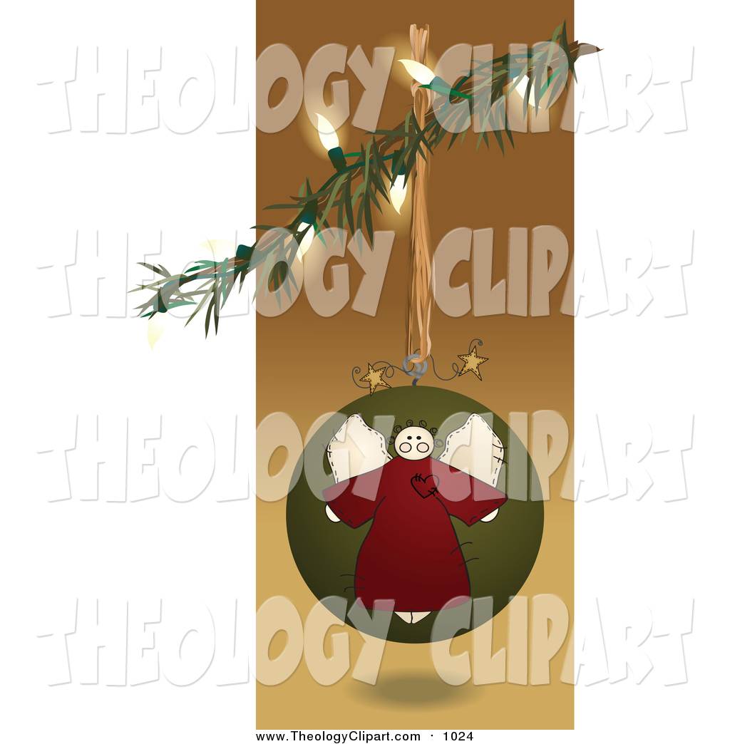 Folk clipart christmas Art Branch Angel Angel from