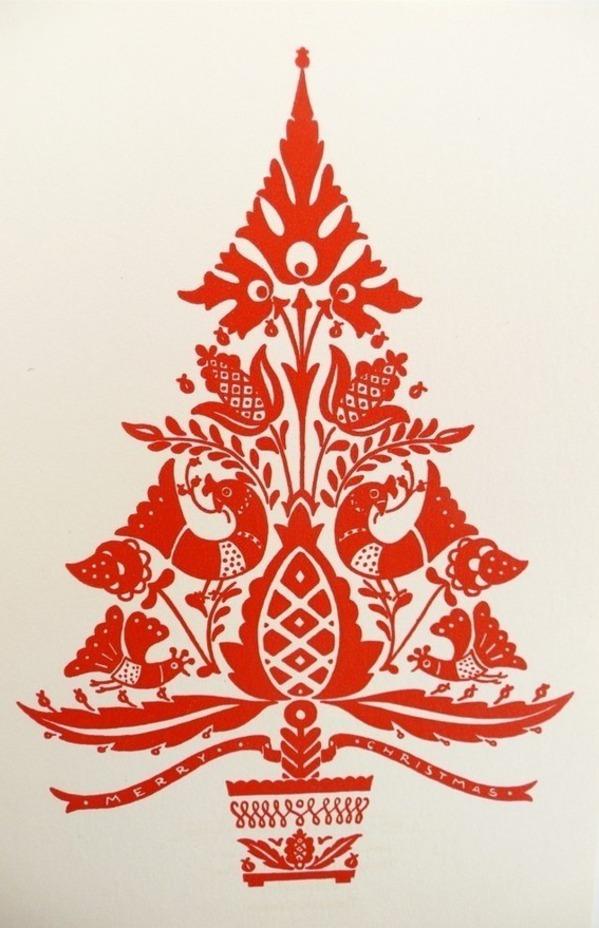 Folk clipart christmas Is Christmas my folk tree