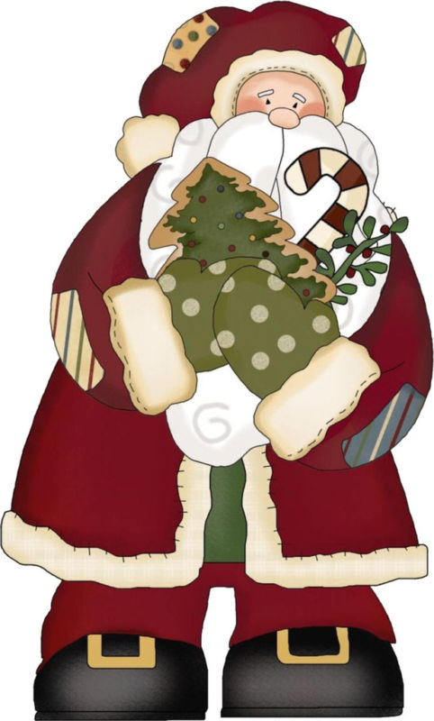 Country clipart santa Images about graphics Scrapbook Christmas