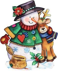 Snowman clipart christmas snowman ClipartChristmas  y Original Image