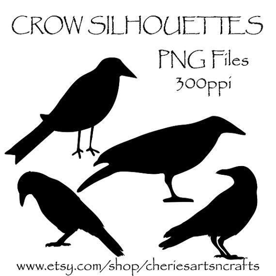 Raven clipart primitive #7