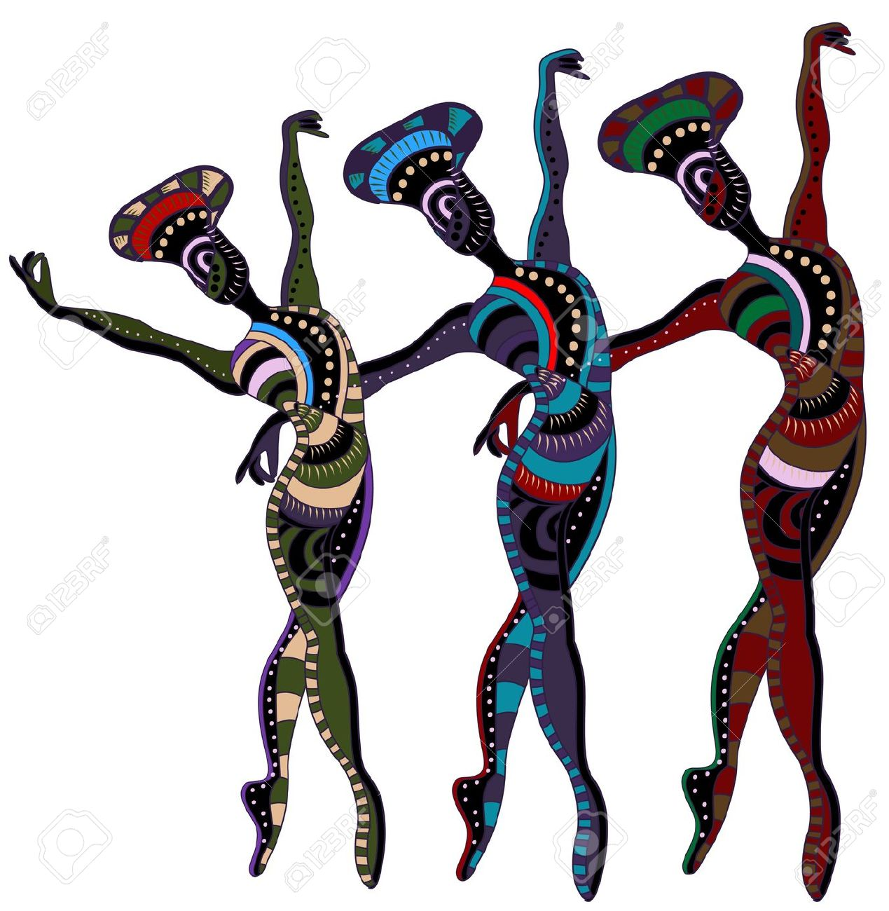 Folk clipart cultural dance Dancing Clipart Dancers Philippines silhouette