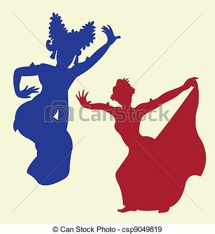 Folk clipart cultural dance Traditional Vector dance Traditional Clipart