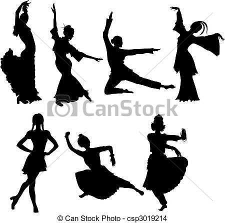 Folk clipart drawing Vector of folk  folk