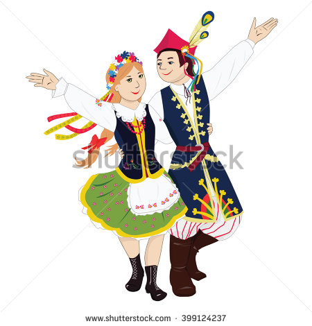 Ukraine clipart And Polish Dance Young Folk