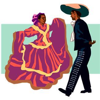 Danse clipart folk dance  Mexican Folk Dance dance