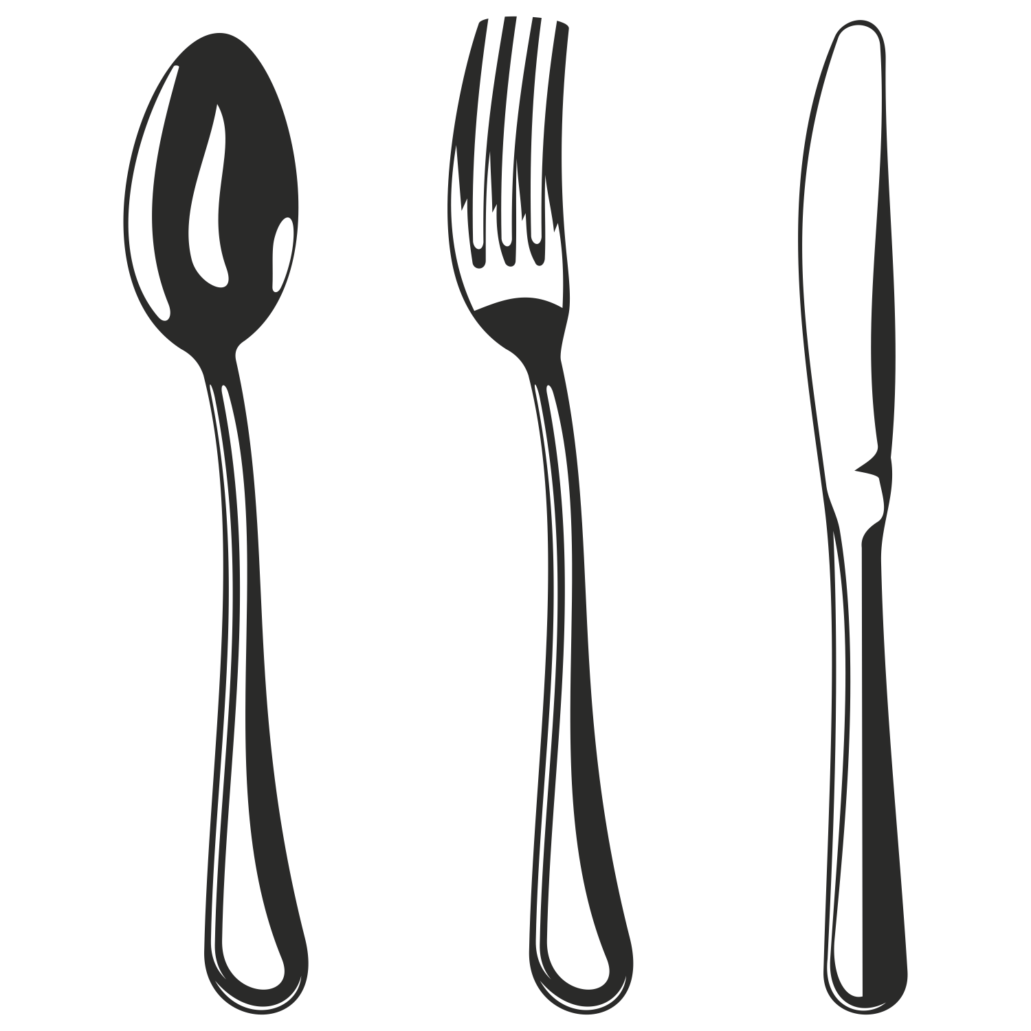 Fork clipart metal spoon Knife chadholtz Savoronmorehead And art