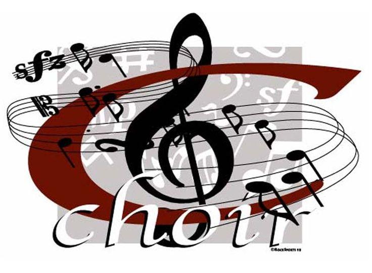 Sheet Music clipart choir #11