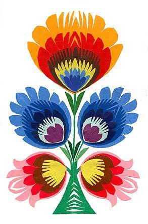 Folk clipart paper flower Pinterest folk on 6 25+