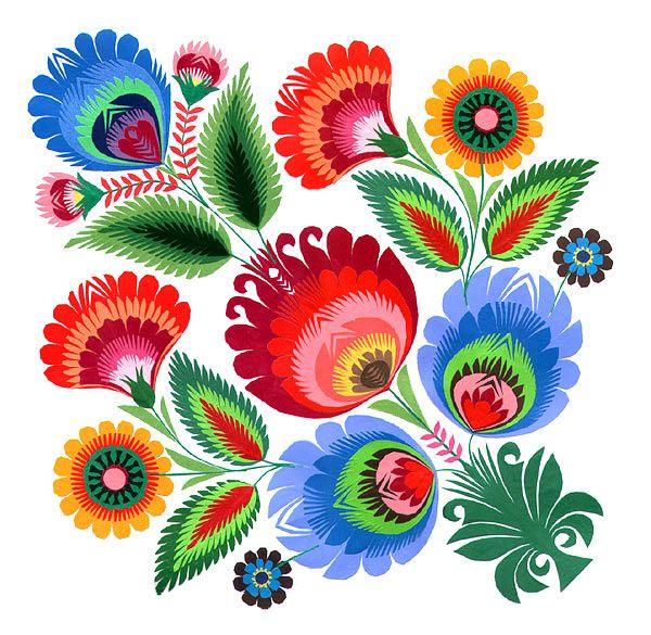 Folk clipart paper flower Pinterest Scandinavian pixellogo ideas art
