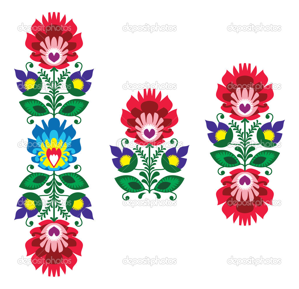 Folk clipart paper flower  Buscar Google México Google