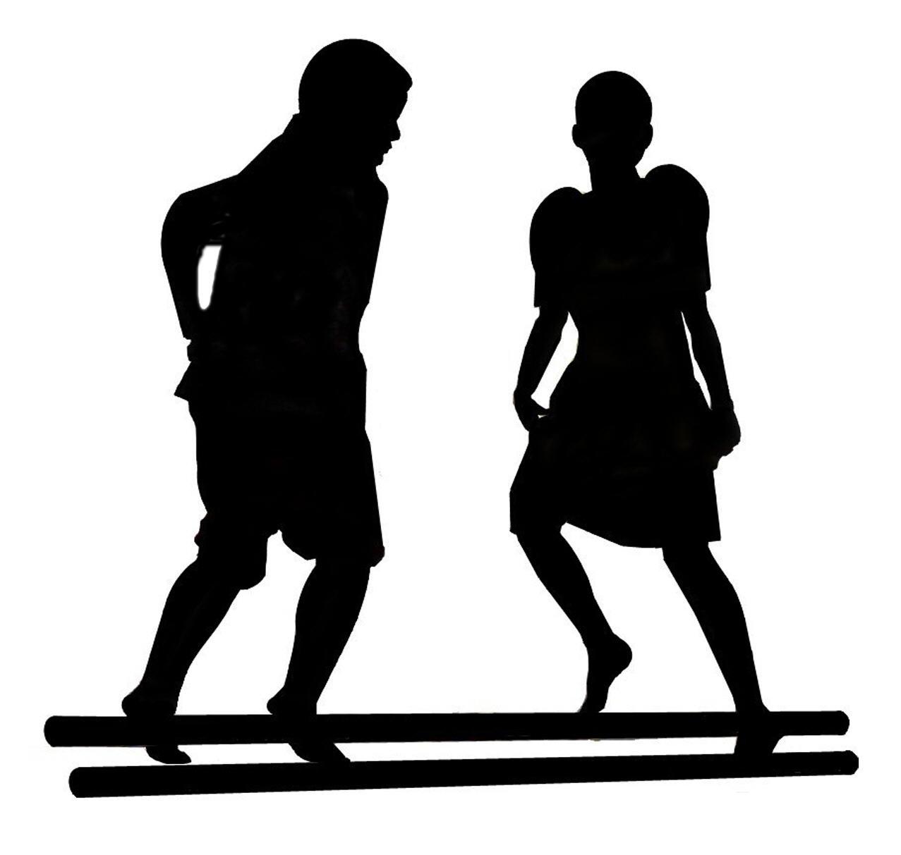 Danse clipart tinikling  Samahang Kapatid