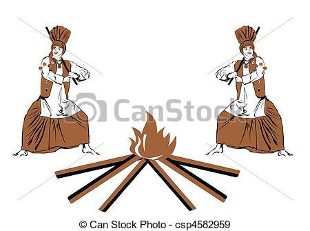 Danse clipart lohri Of Two bangra Illustration Punjab