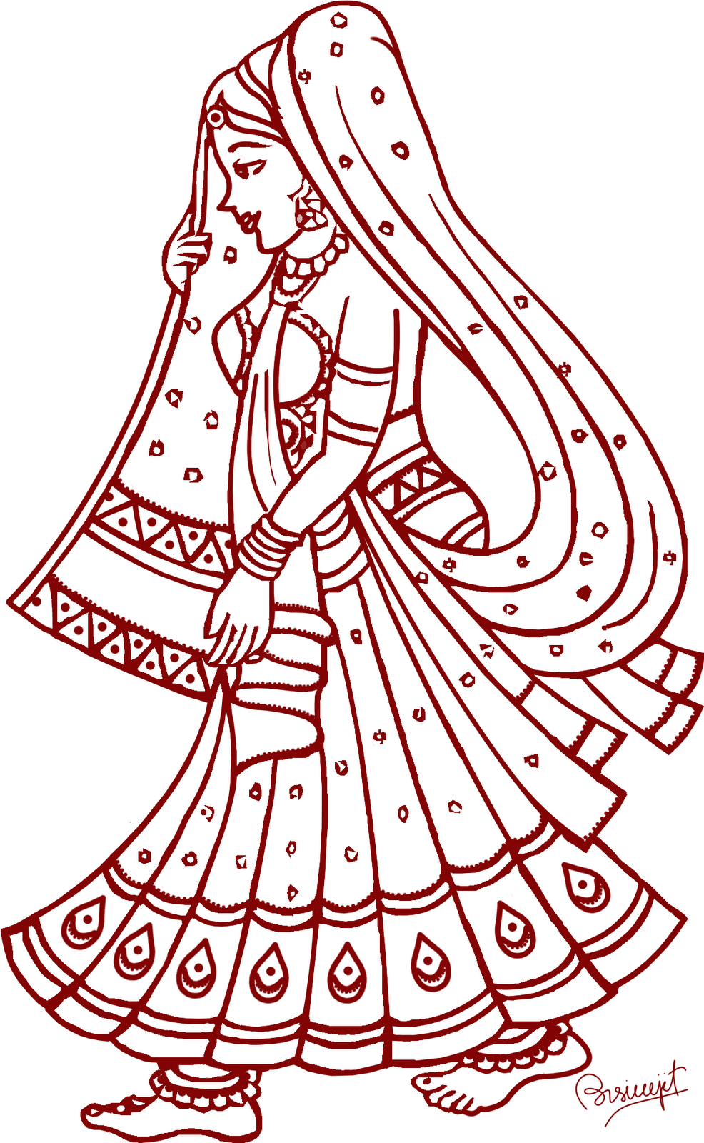 Indian clipart marriage ceremony Couple 101 Couple Wedding Indian