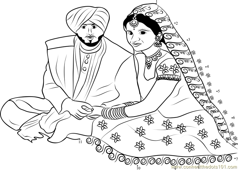 K.o.p.e.l. clipart sikh Dot pages coloring wedding (50+)