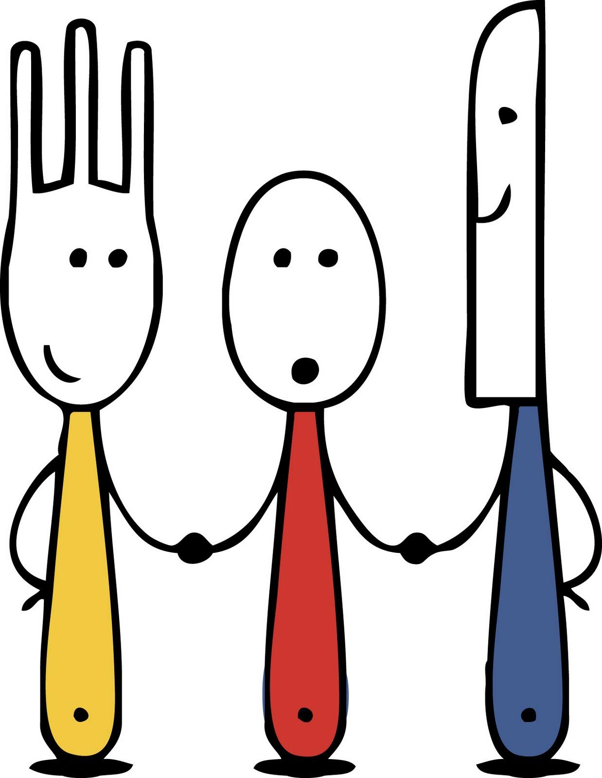 Khife clipart spoon Fork Art Clip Spoon Free