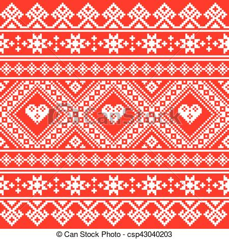Folk clipart ukrainian Embroidery art folk Ukrainian pattern