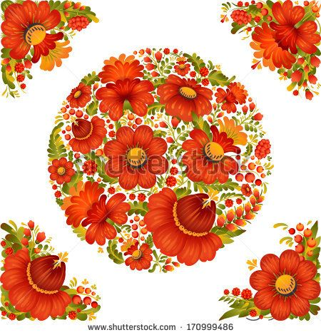 Folk clipart ukrainian Vector elements design Pinterest Ukrainian