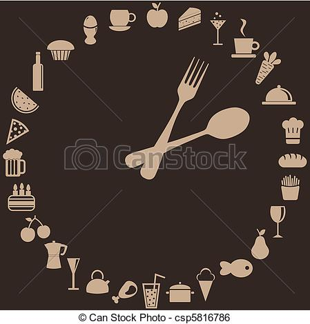 Food clipart abstract #8
