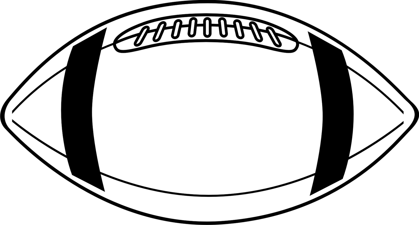 Sketch clipart football 9 clip clipart outline art