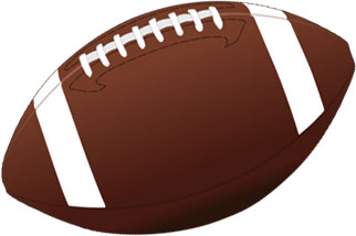 Football clipart #14